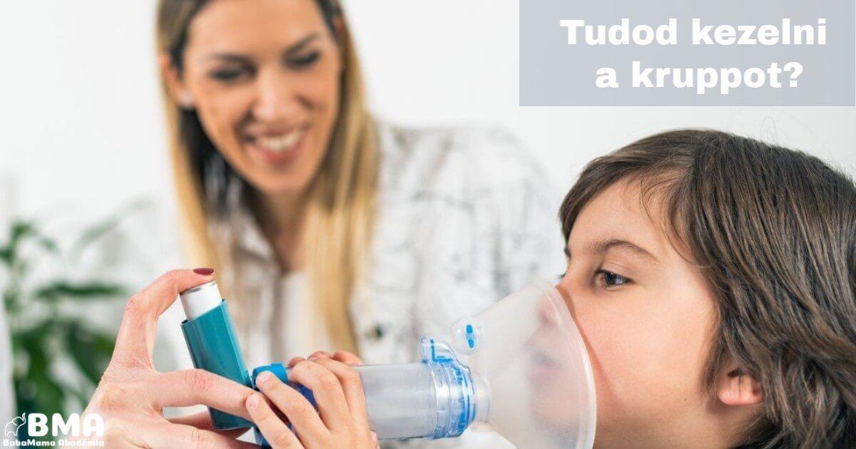 Krupp a gyerekek 10 %-át érinti 6 éves kor alatt!